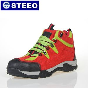 3dce9063be2 SBP red color sport light Kevlar toe sexy safety boots