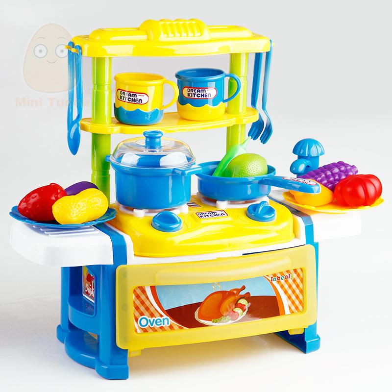 minitudou cocina juguetes para nias nios juego de corte de alimentos de cocina clsicos juguetes para