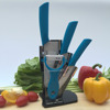4pcs useful Ceramic knife set with arcylic stand
