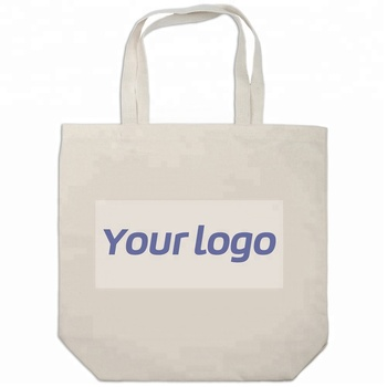 customized reusable cheap cotton handle bag with logo printing