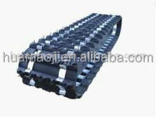 snowmobile rubber track/ robot rubber track