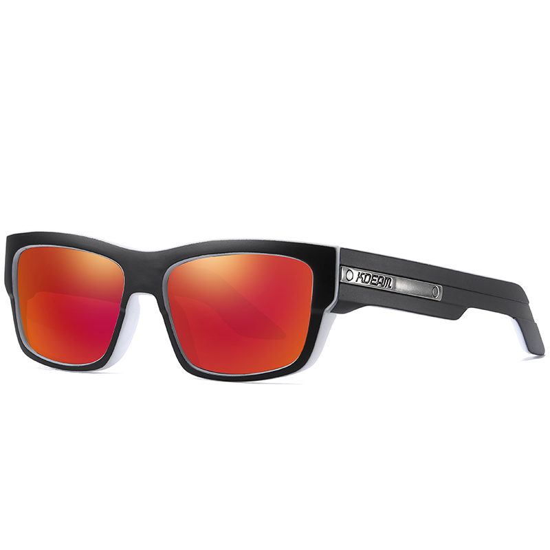 KDEAM Shades Vintage Sunglasses Retro Polarized Sports Sun glasses Unisex Novelty gafas de sol UV400 New Product Ideas 2019