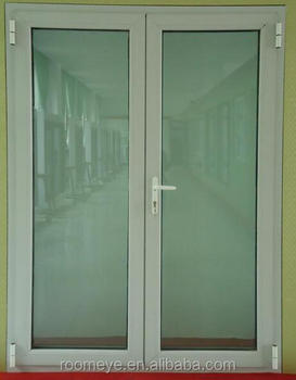 Double Glazing Hinged Pvc Swing Open Gl Door With Lock Pcd 023