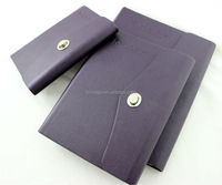 Personal imprinting portfolio for office executive and manager