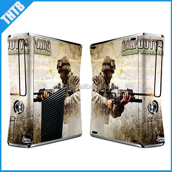 Wholesale Decal Sticker skin For Xbox360 Slim Console&Controller
