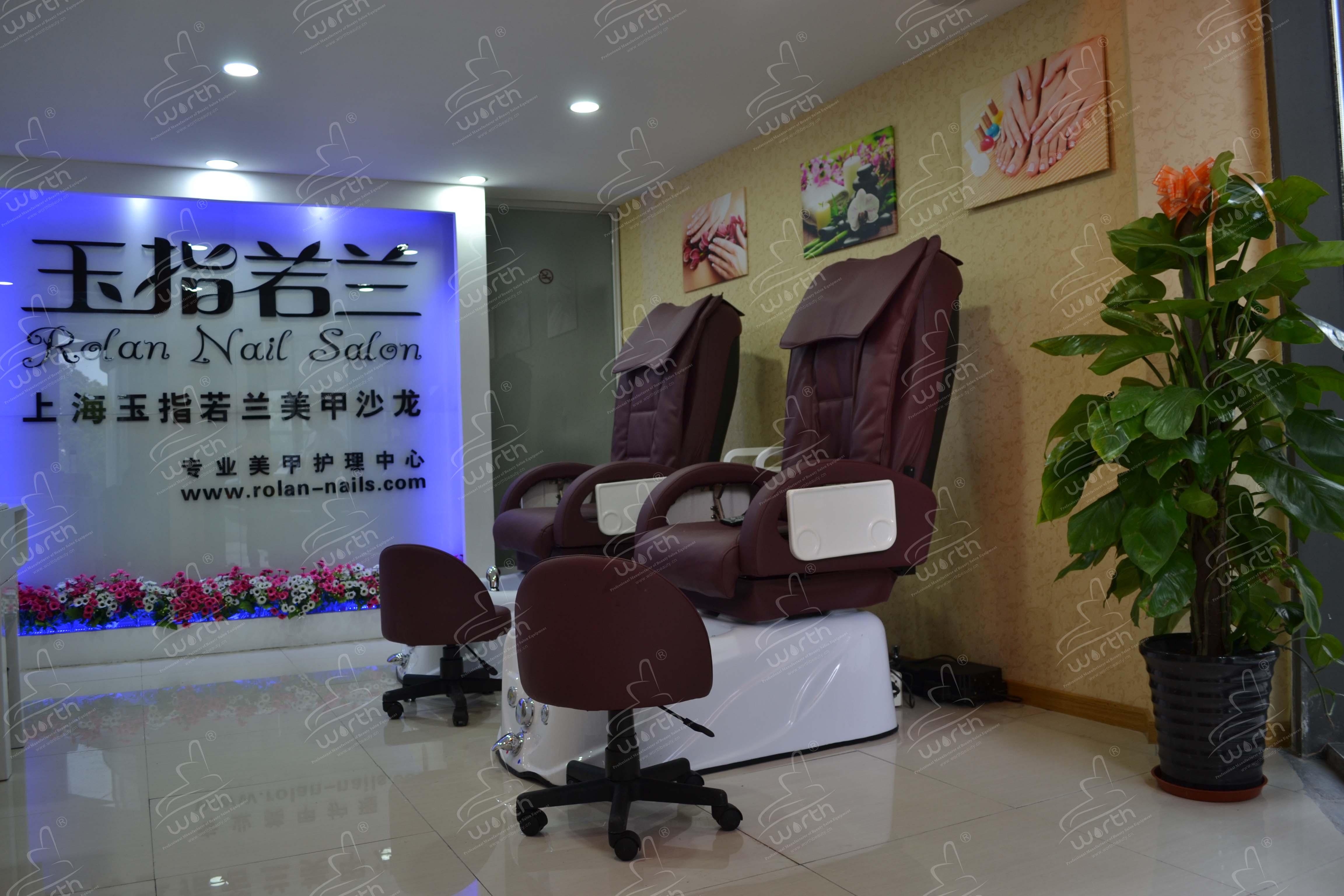 Shanghai Worth Sanitary Equipment Co Ltd Pedicure Chair