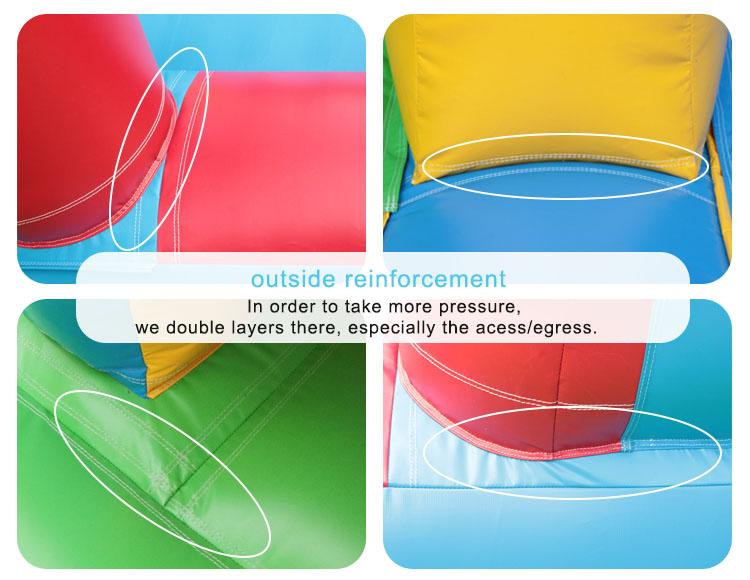 outdoor inflatable slide