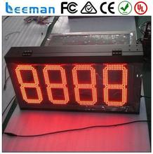 led digital price number board led display rs485 led gas price display/led gas station sign/led fuel price sign