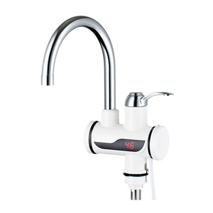 3C/CE 220V Plastic Digital Instant Hot Water Tap Electric Faucet Kitchen Sink Mixer