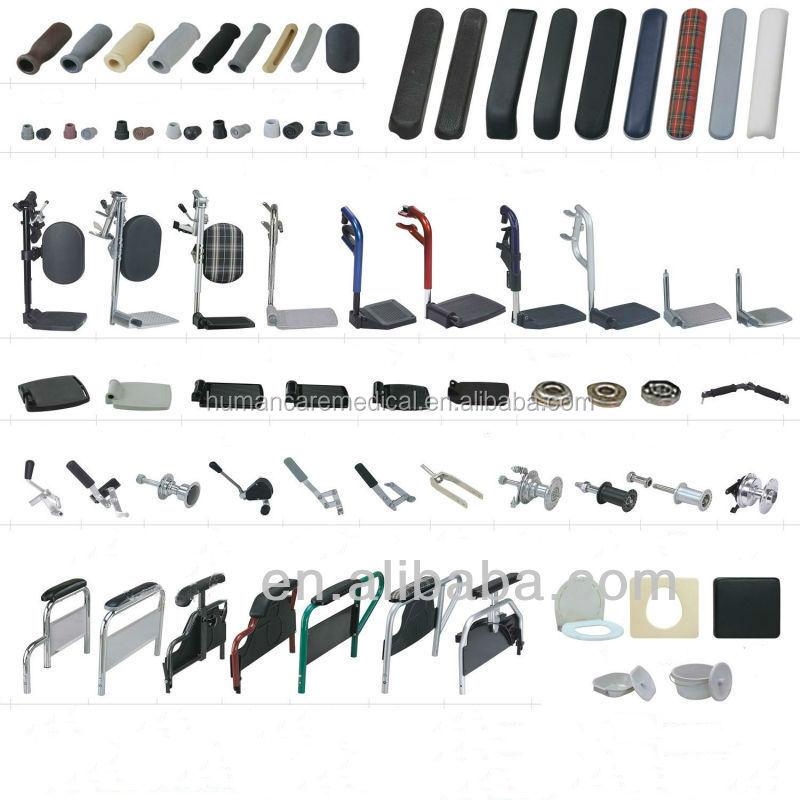 Haute qualit fauteuil roulant pi ces de rechange pour for Feltrini antirumore per sedie