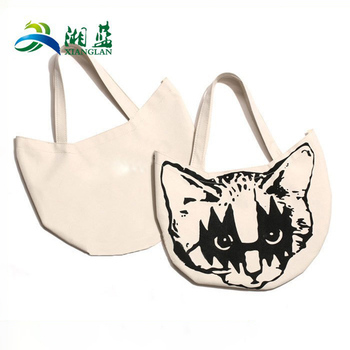 wholesale reusable shopping imprinted bags with customized logo