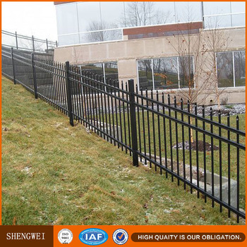 Faux Wrought Iron Fence Panels For