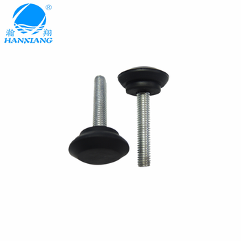Chinese manufacturer wholesale non-slip screw rubber feet for ladders