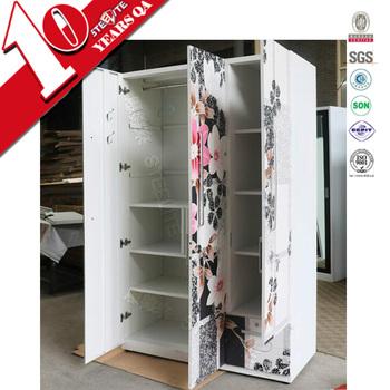 Furniture Design Of Almirah modern furniture design printed wardrobe 3 door almri design with