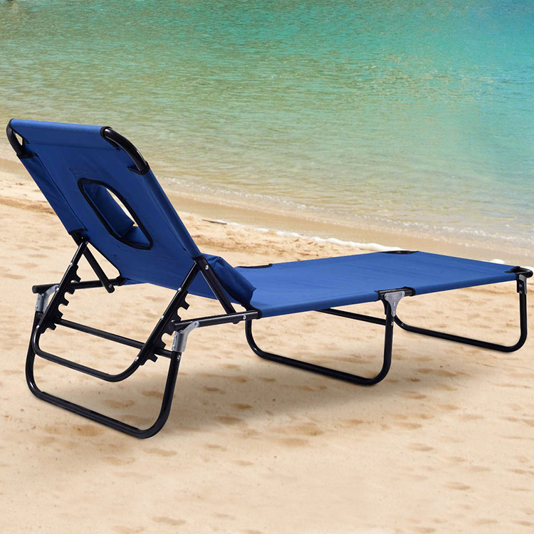 Outdoor Wholesale Folding Beach chaise lounge