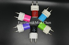 High Quality 5V 1A EU Plug USB Wall Adapter charger For Belkin Samsung S6 iphone 6s 6 ios9 with retail packaging free Shipping