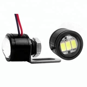 No MOQ bike bicycle led daytime running lights 12v 5630 3w eagle eye bulb motorcycle turn light led strobe light