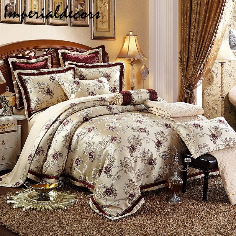 Satin Cotton Duvet Cover Bedding Set (Duvet Cover + Bed