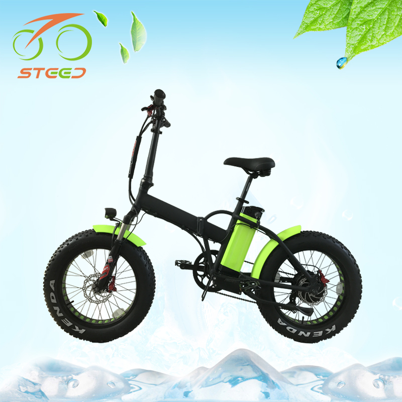 500w brushless hub motor high quality folding electric bicycle low price for sale