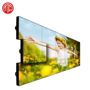 42 inch 3x3 high quality video wall with ultra narrow bezel original led display panel and video wall controller