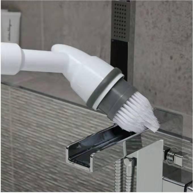 Multi-funktion bad wäscher elektrische boden kehrmaschine spin pinsel reinigung pinsel power wäscher reinigung liefert