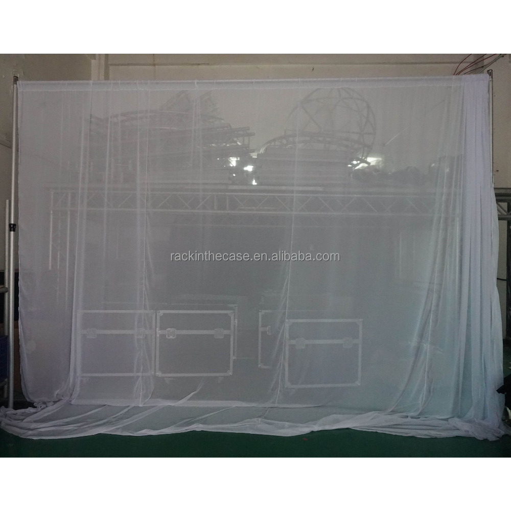 diy for com alibaba pipe drape pvc at suppliers manufacturers drapes fabric showroom backdrop wedding and