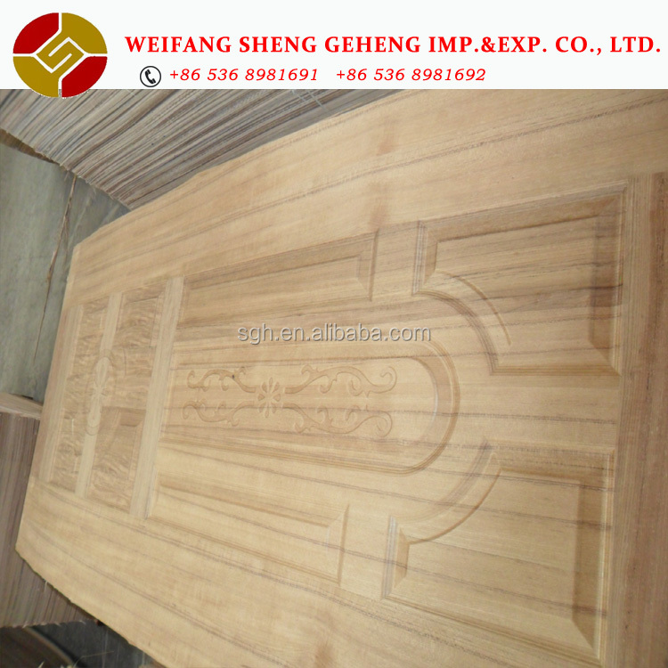 960x2150x3.0MM HDF board Doorskin with different <strong>designs</strong>