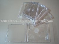 CD Case With Clear Tray (2 Discs)