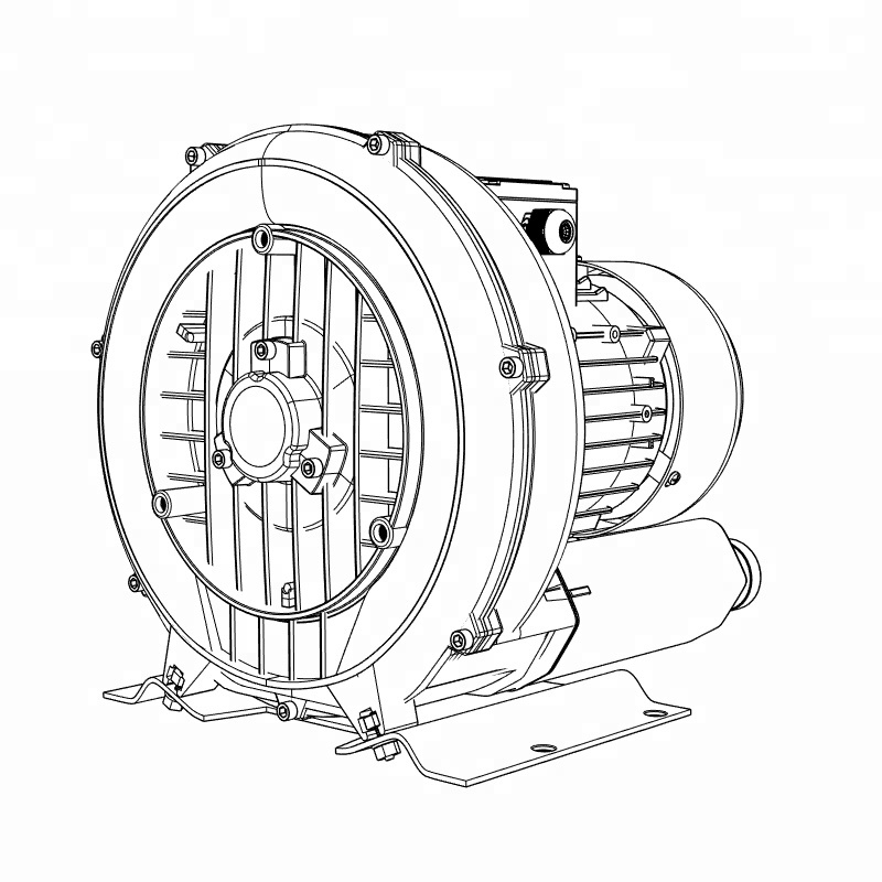 Hot Sale Lnlee 3000w Conveying Root Ring Blower