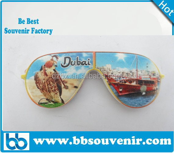 polyresin fridge magnet for souvenir