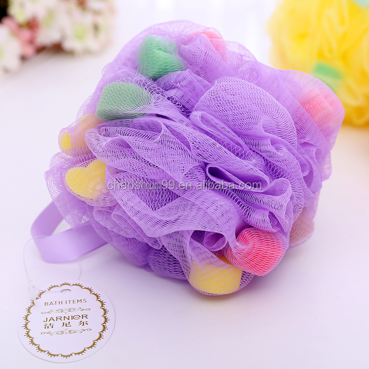 Body Bath Sponge With Soap Inside Manufacture In China