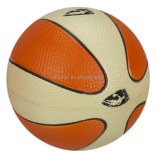 7.6cm PU foam anti stress basketball toy style/kids basketball toys/kids jumping toys