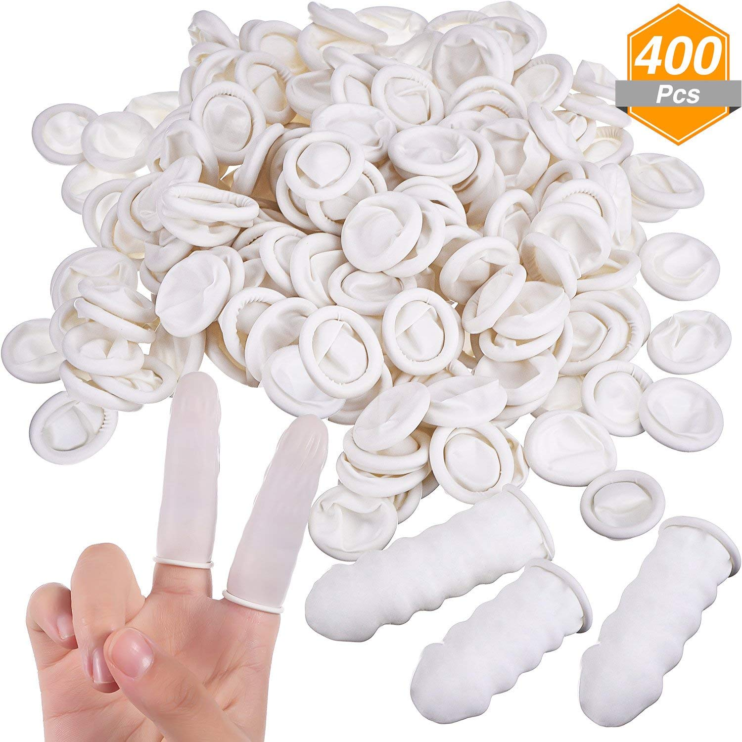 Buy Wholesale medical latex finger cots/milky white rubber