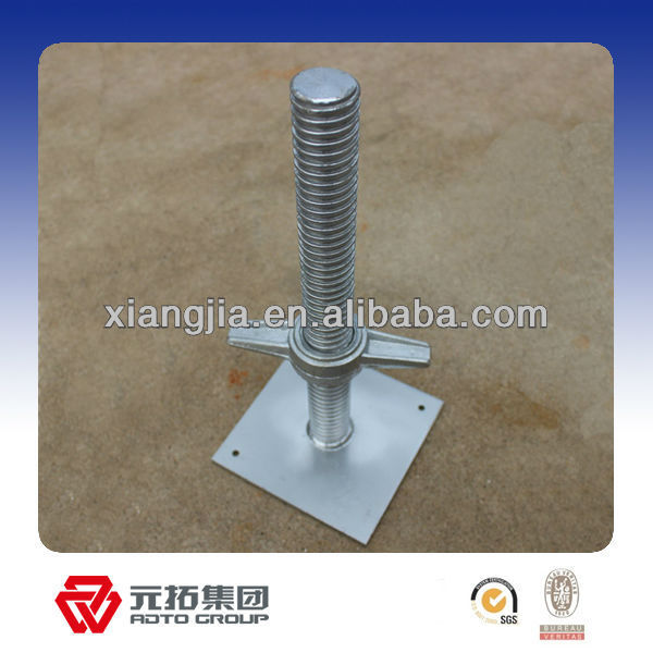 scaffolding props parts nuts screw jack