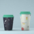 Promotional Travel Mug Bamboo Fiber Biodegradable Cup For Coffee