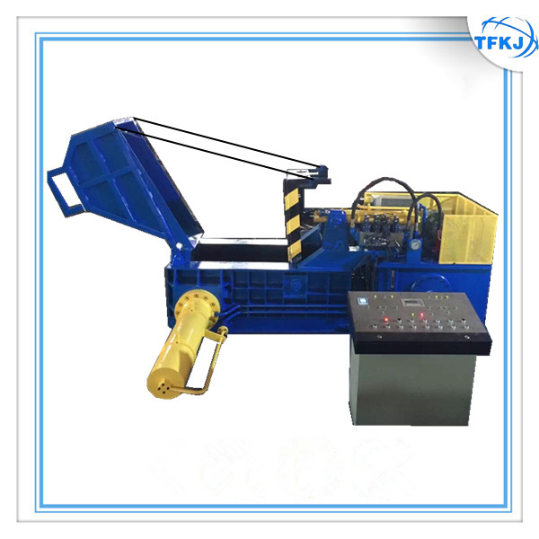 Hydraulic Recycling Processing Baler With Hopper
