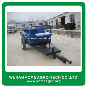 Farm trail car aluminum trailer Agricultural trailers