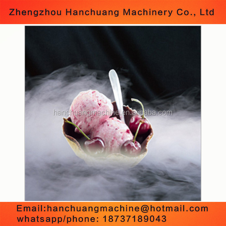 Liquid Nitrogen Ice Cream Making Machine/container/dewar price for sale