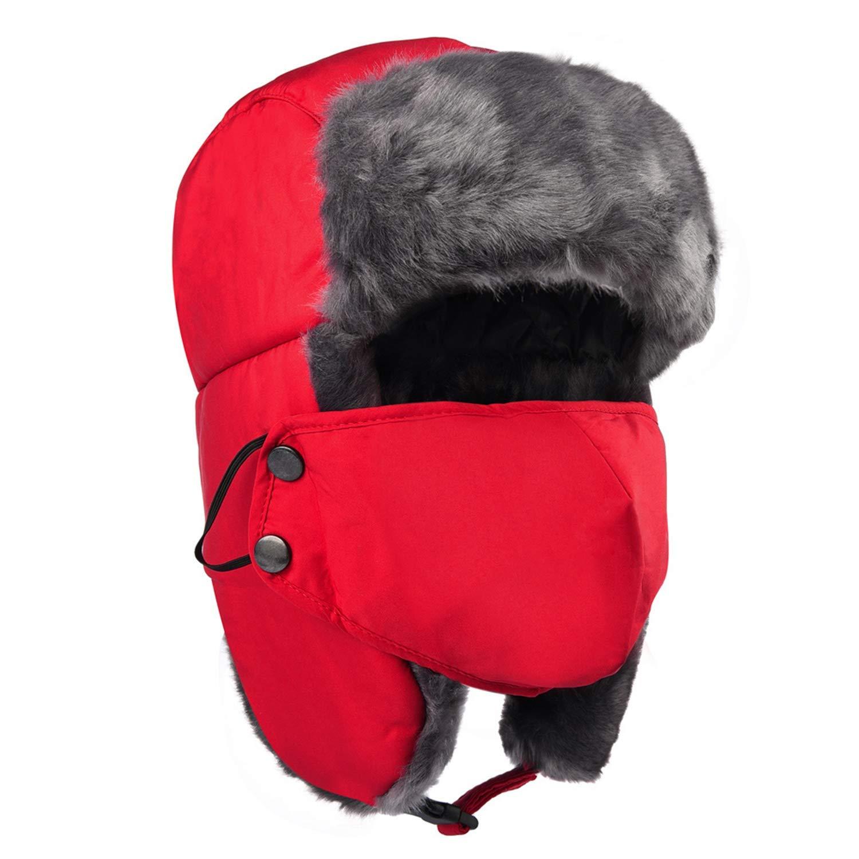 98d4cf0251e Maylisacc Winter Trooper Trapper Ear Flap Hat