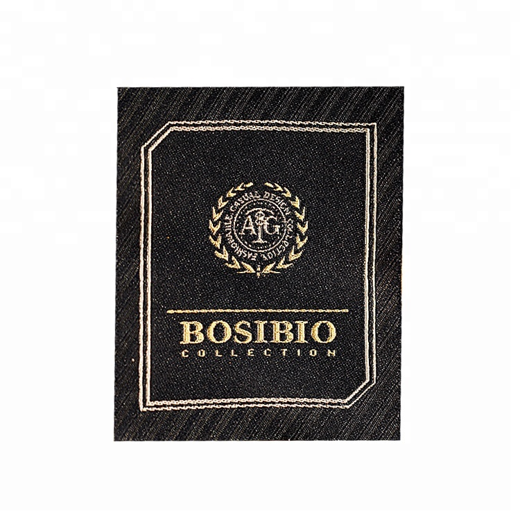 clothing label Best price wholesale clothing for Woven label personalization customize Tag accessories