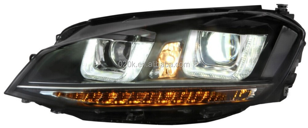Xenon super vision hid head hid light wholesale for Vw Golf 7
