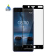 High quality silk printed full coverage ultra clear tempered glass for for Nokia 8 screen protector