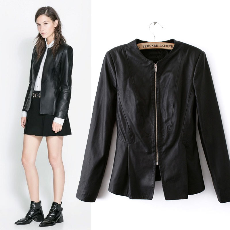 Cheap Black Leather Collarless Jacket, find Black Leather ...
