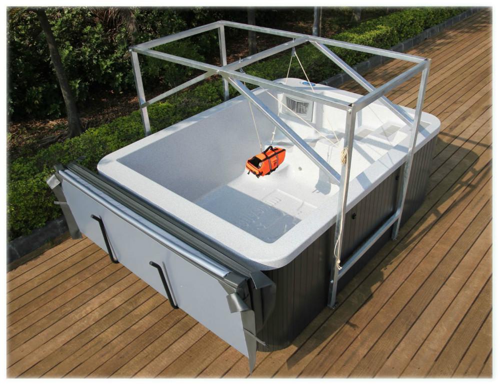 In fibra di vetro di buona qualit idromassaggio piscina - Vasca da bagno piscina ...