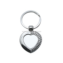 Hot Sale Print Promotion Blank Sublimation Metal Key Ring