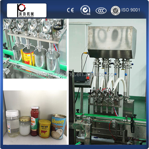 Efficient mulberry jam filling capping machine, Full automatic from shanghai