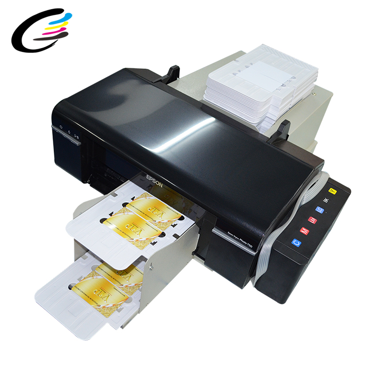 Nieuwe Direct Supply L800 pvc id-kaart digitale inkjet printer