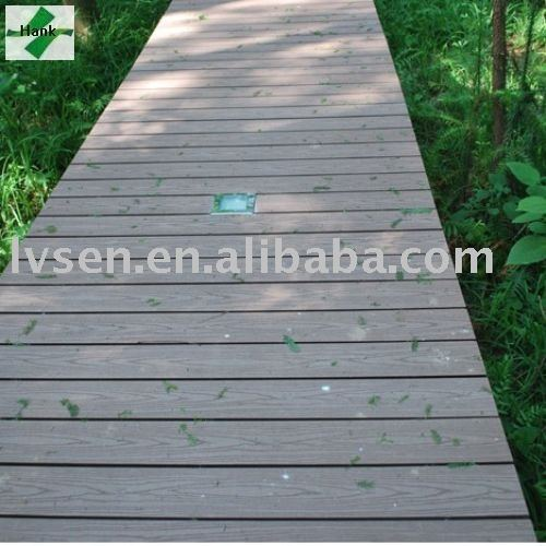 Lower linear change WPC Outdoor Decking