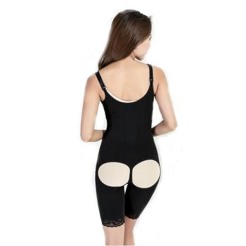 cd1f47bb6cca7 Open Butt Women Full Body Shaper Waist Slimming Suit Tummy Control Shapewear  Bra Lift Corset Push