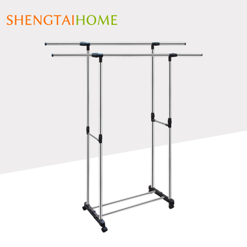 Modern Design Portable Cloth Drying Hanger Rack With Pulley For Balconies -  Buy Cloth Drying Rack,Cloth Hanger Rack,Cloth Pulley Hanger Rack Product
